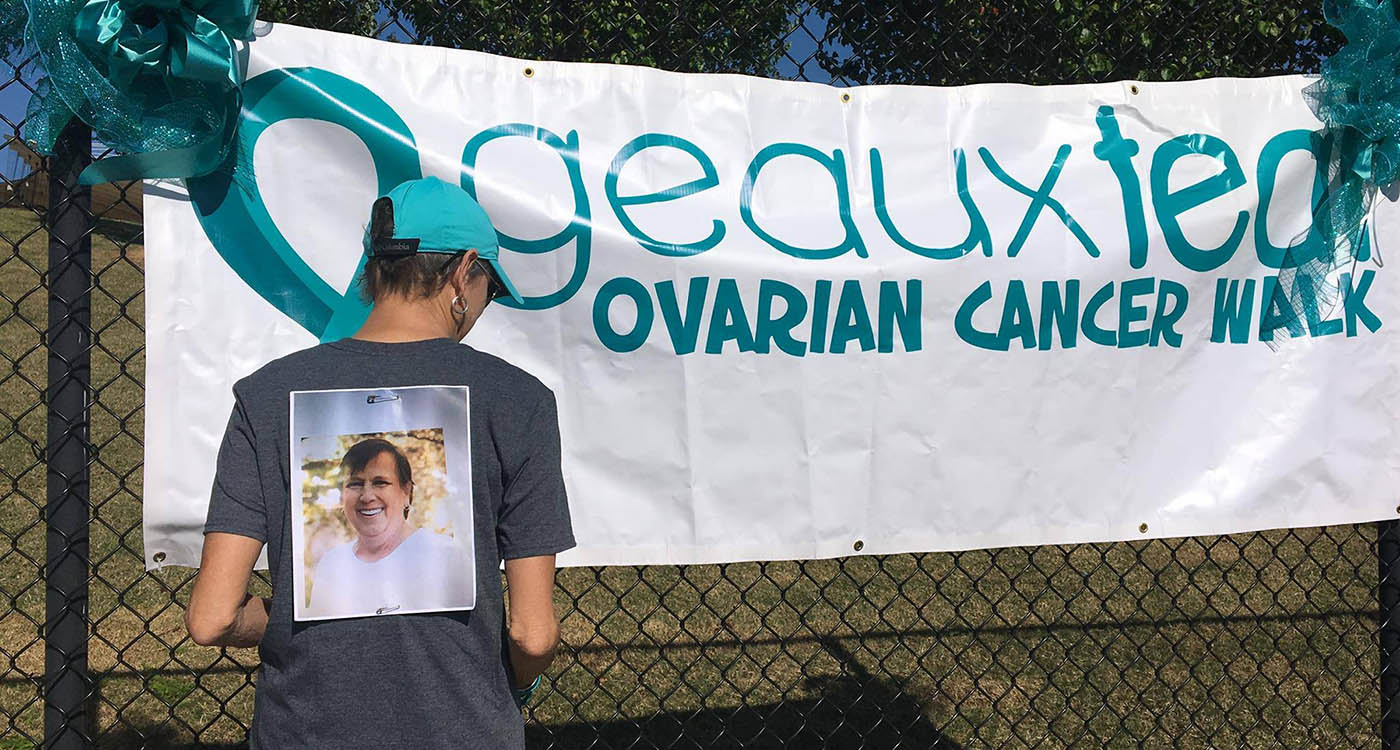 ovarian cancer walk for the cure