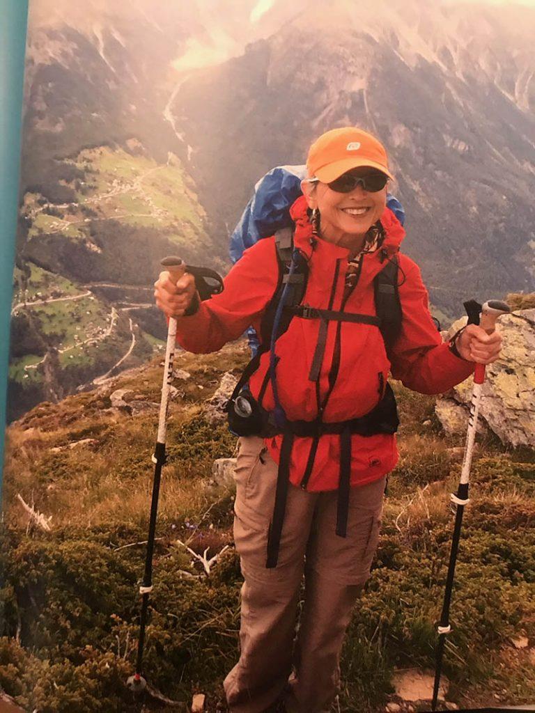 jan coggins mountain climbing