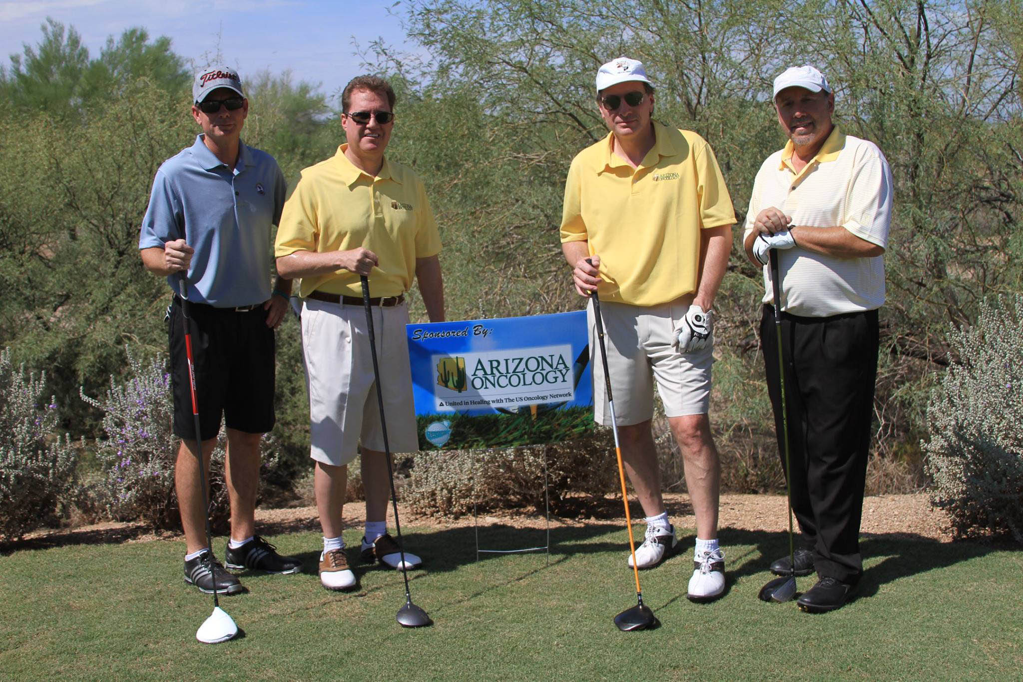 golf az oncology hole sponsor