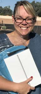 iPad winner Jennifer Griffin