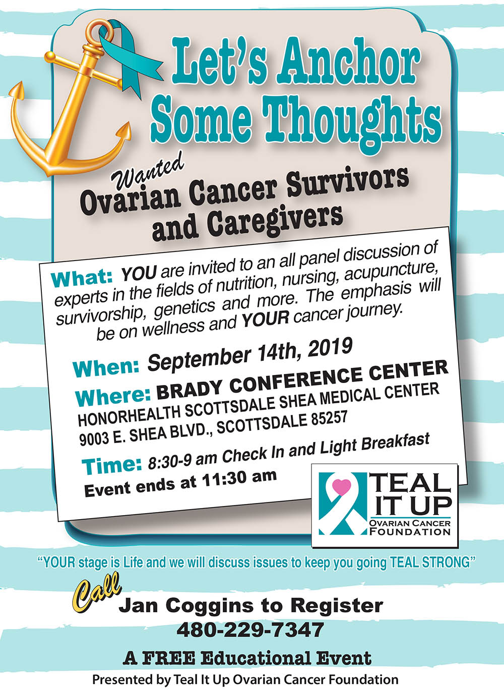 Ovarian Cancer Survivors summit
