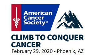 Climb to Conquer Cancer logo