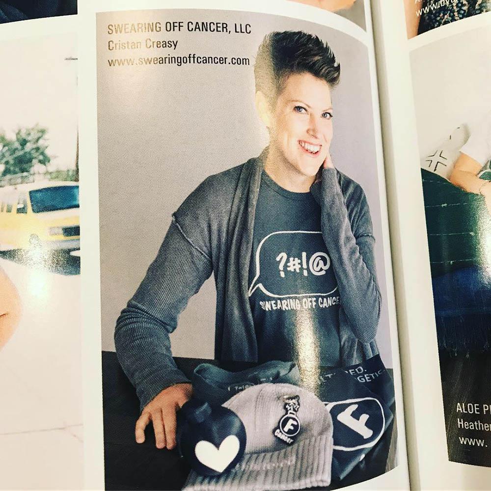 Cristan Creasy - On the Rise - Women to Watch award magazine
