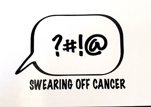 Cristan Creasy - swearling off cancer logo