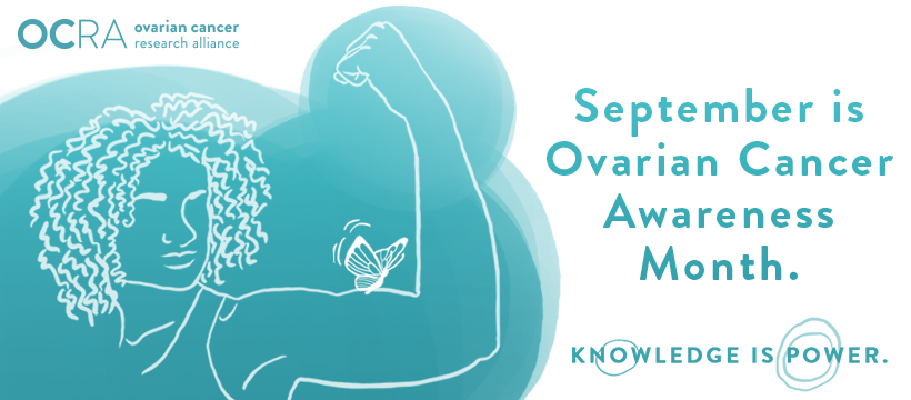 Sept ovarian cancer awareness month OCR banner
